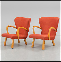BNPS.co.uk (01202 558833)<br /> Pic: Barnebys/BNPS<br /> <br /> Clam chairs can sell for up to &pound;50,000 each.<br /> <br /> Ikea is famous for its low-cost furniture but vintage products from the budget retailer are now selling for up to &pound;50,000. <br /> <br /> The shockingly high prices are a result of a burgeoning market for furniture from the second half of the 20th century, when IKEA made its name. <br /> <br /> Within the last year the value of the Swedish manufacturer's most iconic designs have rocketed past their retail cost. <br /> <br /> Recently IKEA's 1944 'mushroom' or 'clam chair', measuring 30ins by 30ins, sold for &pound;50,000 - more than any other individual IKEA product on the market today.