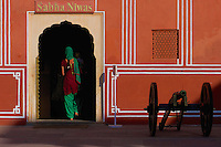 The City Palace, Jaipur, which includes the Chandra Mahal and Mubarak Mahal palaces