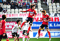 (R-L) Yuya Osako, Gaku Shibasaki (Antlers), Takuya Nozawa (Vissel),.MARCH 20, 2012 - Football / Soccer :.2012 J.League Yamazaki Nabisco Cup Group B match between Kashima Antlers 2-0 Vissel Kobe at Kashima Soccer Stadium in Ibaraki, Japan. (Photo by AFLO)