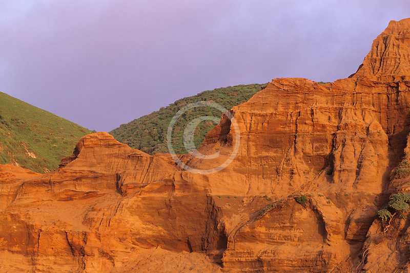 California, Point Reyes, Rock formation, McClures Beach