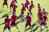 Atletico de Madrid training
