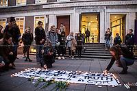 """10.02.2016 - """"#We All Are Giulio"""" - Vigil at SOAS for Giulio Regeni"""