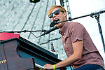 Jack's Mannequin playing the Ad Astra stage at the First Annual Kanrocksas Music Festival.