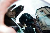 JAKAC-BORKI, POLAND, JUNE 15, 2010:.Jaroslaw Kaczynski on the campaign trail: leaving a village of Jakac-Borki north east Poland. .(Photo by Piotr Malecki / Napo Images)..JAKAC-BORKI, 15/06/2010:.J.Kaczynski wyjezdza z wizyty we wsi Jakac-Borki w trakcie kampanii prezydenckiej..Jaroslaw Kaczynski. Spotkanie z wyborcami..Fot: Piotr Malecki / Napo Images.