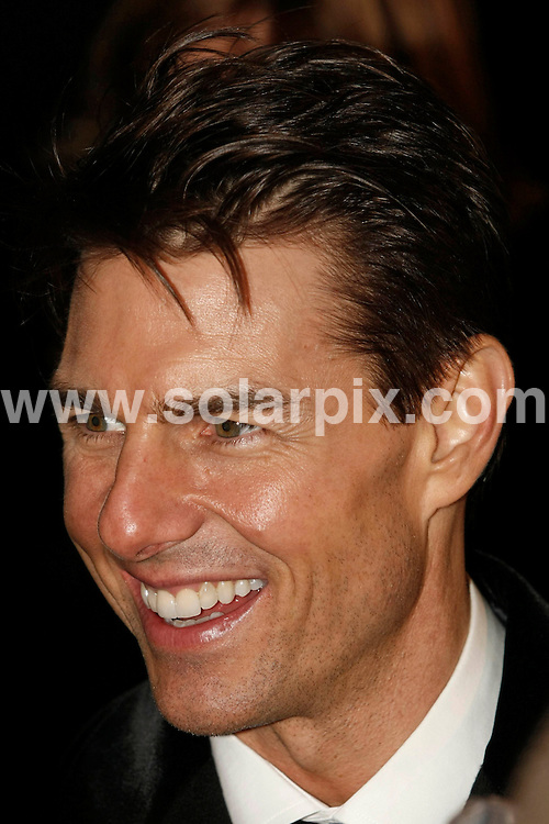 **ALL ROUND PICTURES FROM SOLARPIX.COM**.**SYNDICATION RIGHTS FOR UK ONLY**.Tom Cruise in Amsterdam for the premiere of Valkyrie..JOB REF:   8312   BPS       DATE: 22.01.09.**MUST CREDIT SOLARPIX.COM OR DOUBLE FEE WILL BE CHARGED* *ONLINE USAGE FEE £50.00 PER PICTURE - NOTIFICATION OF USAGE TO PHOTO@SOLARPIX.COM*