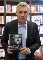 MAY 25 Carlo Ancelotti book signing