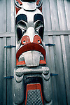 Alaska: Totem pole in Prince Rupert, Canada.  Photo akpanh105..Photo copyright Lee Foster, 510/549-2202,  lee@fostertravel.com, www.fostertravel.com