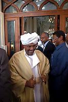 Roma 14 Settembre  2007.Il Presidente del Sudan Omar el-Bashir.President Omar el-Bashir.