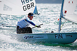 FinlandLaser RadialMenHelmFINOM4OskariMuhonen<br /> Day1, 2015 Youth Sailing World Championships,<br /> Langkawi, Malaysia
