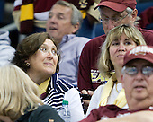 Kathy Kreider, David Kreider - The Boston College Eagles defeated the Ferris State University Bulldogs 4-1 (EN) in the 2012 Frozen Four final to win the national championship on Saturday, April 7, 2012, at the Tampa Bay Times Forum in Tampa, Florida.
