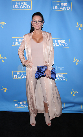 """NEW YORK, NY April 20, 2017  Jenni """"JWOWW Farley attend Logo's Fire Island Premiere Party  at Atlas Social Club  in New York April 20,  2017. Credit:RW/MediaPunch"""