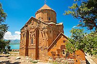 10th century Armenian Orthodox Cathedral of the Holy Cross on Akdamar Island, Lake Van Turkey 61