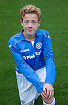 St Johnstone FC Academy U14's<br /> Mark Walker<br /> Picture by Graeme Hart.<br /> Copyright Perthshire Picture Agency<br /> Tel: 01738 623350  Mobile: 07990 594431