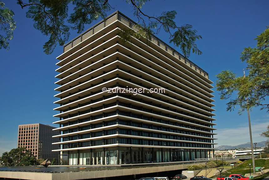 John Ferraro Building, Department of Water and Power, Los Angeles CA,