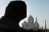 The Taj Mahal in Agra, India - 1996
