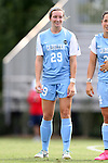 06 September 2015: North Carolina's Dorian Bailey. The University of North Carolina Tar Heels played the University of Southern California Trojans at Koskinen Stadium in Durham, NC in a 2015 NCAA Division I Women's Soccer match. UNC won the game 2-1.