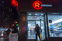 A RadioShack store in Chelsea in New York on Tuesday, February 3, 2015.   RadioShack is reported to be in talks to sell half its stores to Sprint and close the rest in a bankruptcy deal, effectively shutting down the company. (© Richard B. Levine)