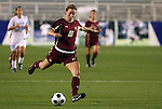 07 November 2008: Boston College's Brooke Knowlton. The University of North Carolina Tarheels defeated Boston College Eagles 2-0  at WakeMed Stadium at WakeMed Soccer Park in Cary, NC in a women's ACC tournament semifinal game.
