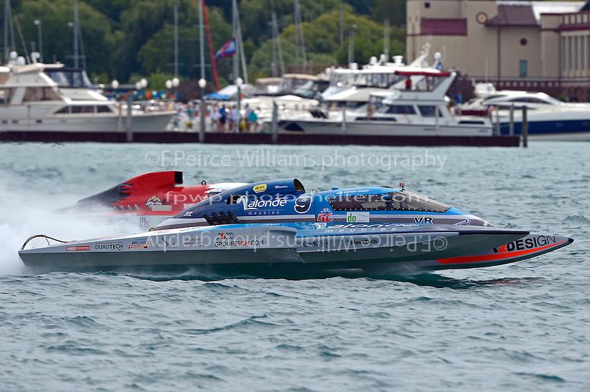 "Mathew Daoust, GP-9 and Ken Brodie II, GP-50 ""Intensity""  (Grand Prix Hydroplane(s)"