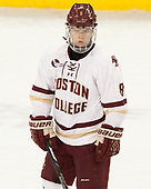 Jesper Mattila (BC - 8) - The Boston College Eagles defeated the visiting Providence College Friars 3-1 on Friday, October 28, 2016, at Kelley Rink in Conte Forum in Chestnut Hill, Massachusetts.The Boston College Eagles defeated the visiting Providence College Friars 3-1 on Friday, October 28, 2016, at Kelley Rink in Conte Forum in Chestnut Hill, Massachusetts.
