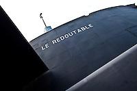 Cherbourg Cité de la Mer  Museo dedicato al mare Visita del sottomarino nucleare francese lanciamissili Le Redoutable, varato nel 1967 e disarmato nel 1991 museum dedicated to the sea Visit of the French nuclear submarine Le Redoutable , launched in 1967 and disarmed in 1991. Vista scafo esterno