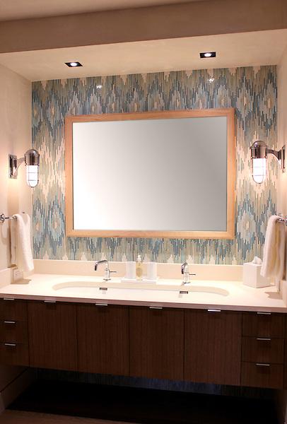 Loom in jewel glass mosaic Quartz, Aquamarine, Tanzanite, Turquoise