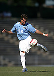 11 September 2005: Ted Odgers. The University of North Carolina Tarheels defeated the University of South Carolina Gamecocks 2-0 in an NCAA Divison I men's soccer game at Fetzer Field in Chapel Hill, NC.