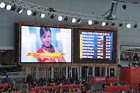 OLYMPICS: SOCHI: Adler Arena, 11-02-2014, 500m Ladies, results, Olga Fatkulina (RUS), ©foto Martin de Jong