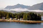 North America, USA, Alaska. Approaching Ketchikan.