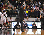 "Ole Miss head coach Andy Kennedy vs. Arkansas at the C.M. ""Tad"" Smith Coliseum in Oxford, Miss. on Saturday, January 19, 2013. Mississippi won 76-64. (AP Photo/Oxford Eagle, Bruce Newman)"