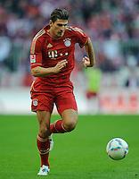 Fussball Bundesliga Saison 2011/2012 9. Spieltag FC Bayern Muenchen - Hertha BSC Berlin Mario GOMEZ (FCB).