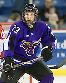 Michael Dorr (Mankato - 23) - The visiting Minnesota State University-Mankato Mavericks defeated the University of Massachusetts-Lowell River Hawks 3-2 on Saturday, November 27, 2010, at Tsongas Arena in Lowell, Massachusetts.