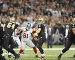 New Orleans Saints Drew Brees (9)vs. New York Giants at the Superdome in New Orleans, La. on Monday, November 28, 2011. New Orleans won 49-24.