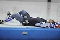 SCHAATSEN: HEERENVEEN: IJsstadion Thialf 05-02-2016, Topsporttraining en wedstrijd, ©foto Martin de Jong