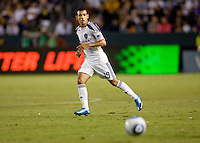 LA Galaxy midfielder Juninho (16) makes a move to the loose ball. The LA Galaxy and the San Jose Earthquakes played to a 2-2 draw at Home Depot Center stadium in Carson, California on Thursday July 22, 2010.