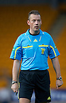 St Johnstone v Kilmarnock....06.11.10  .Ref Iain Brines.Picture by Graeme Hart..Copyright Perthshire Picture Agency.Tel: 01738 623350  Mobile: 07990 594431
