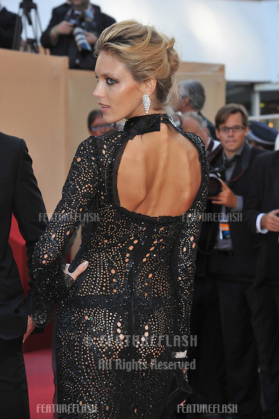 "Anja Rubik at the premiere of ""This Must Be The Place"" in competition at the 64th Festival de Cannes..May 20, 2011  Cannes, France.Picture: Paul Smith / Featureflash"