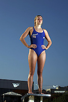 PICTURE BY Ben Duffy/SWPIX.COM........ British Swimming Feature Portraits....British Gas Swimming team Holding camp, Olbia, Sardinia....17/07/09..Copyright - Simon Wilkinson - 07811267706..Rebecca Adlington pictured at the British Gas Swimming Team holding camp in Sardinia ahead of the World swimming championships in Rome  later this month Becky