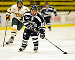 11 February 2011: University of New Hampshire Wildcat forward Nicole Gifford, a Freshman from Peterborough, Ontario, in action against the University of Vermont Catamounts at Gutterson Fieldhouse in Burlington, Vermont. The Lady Catamounts defeated the visiting Lady Wildcats 4-2 in Hockey East play. Mandatory Credit: Ed Wolfstein Photo