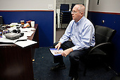 PHOENIX, ARIZONA, USA, 19/10/2016:<br /> Press spokesman of Trump campaing in Phoenix Tim Sefert, at the office.<br /> Campaign for Donald Trump at the republican party headquarters.<br /> Arizona, traditionally very republican state, has become a swing state with both main candidates equally scoring in polls. (Photo by Piotr Malecki / Napo Images)