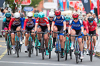 Picture by Alex Whitehead/SWpix.com - 11/05/2017 - Cycling - Tour Series Round 2, Stoke-on-Trent - Matrix Fitness Grand Prix Series - Team WNT.