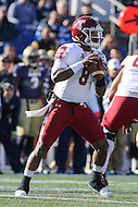Annapolis, MD - December 3, 2016: Temple Owls quarterback Phillip Walker (8) attempts to throw a pass during game between Temple and Navy at  Navy-Marine Corps Memorial Stadium in Annapolis, MD.   (Photo by Elliott Brown/Media Images International)