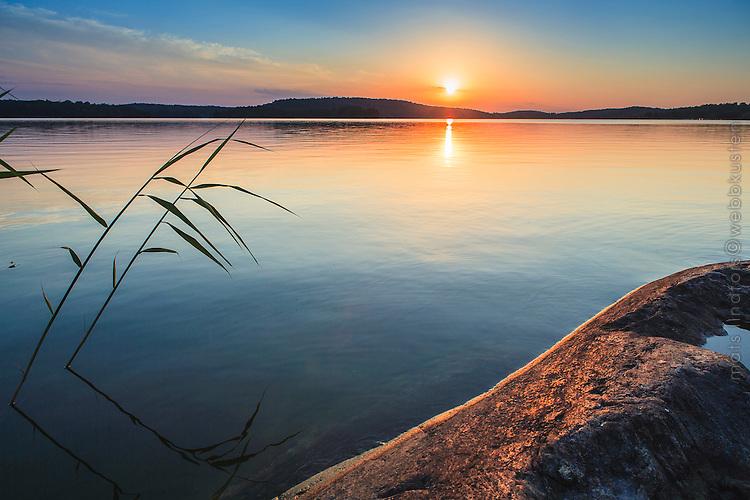 solnedgång stockholm