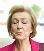 Andrea Leadsom MP<br /> for South Northamptonshire and Conservative Party Leader candidate <br /> arriving for the Andrew Marr Show at the BBC, Portland Place,  London, Great Britain <br /> 3rd July 2016 <br /> <br /> Andrea Leadsom <br />  <br /> <br /> Photograph by Elliott Franks <br /> Image licensed to Elliott Franks Photography Services
