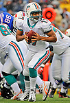 9 December 2007: Miami Dolphins quarterback Cleo Lemon in action against the Buffalo Bills at Ralph Wilson Stadium in Orchard Park, NY. The Bills defeated the Dolphins 38-17. ..Mandatory Photo Credit: Ed Wolfstein Photo