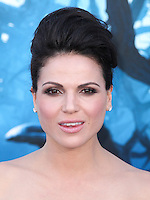 HOLLYWOOD, LOS ANGELES, CA, USA - MAY 28: Lana Parrilla at the World Premiere Of Disney's 'Maleficent' held at the El Capitan Theatre on May 28, 2014 in Hollywood, Los Angeles, California, United States. (Photo by Xavier Collin/Celebrity Monitor)