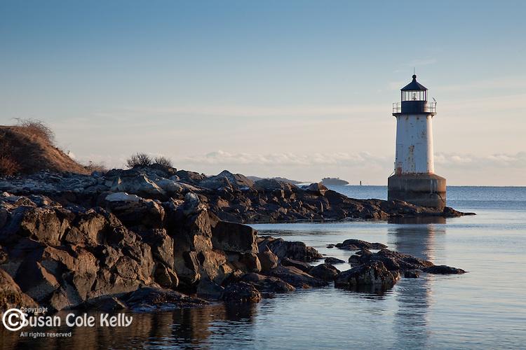 Winter Island Light in Salem, MA, USA