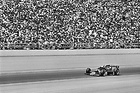 INDIANAPOLIS, IN - MAY 25: Danny Ongais drives his Parnelli VPJ6C/Cosworth during the Indy 500 at the Indianapolis Motor Speedway in Indianapolis, Indiana, on May 25, 1980.