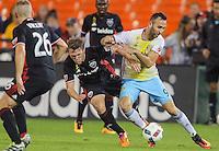 Washington, D.C. - September 28, 2016: D.C. United defeated Columbus Crew SC 3-0 during their Major League Soccer (MLS) match at RFK Stadium.