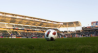 Puerto Rico Islanders vs LA Galaxy game ball. The Puerto Rico Islanders defeated the LA Galaxy 4-1 during CONCACAF Champions League group play at Home Depot Center stadium in Carson, California on Tuesday July 27, 2010.